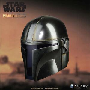 ANOVOS-Star-Wars-The-Mandalorian-Helmet-Museum-Grade-1-1-Scale-Prop-Replica-NEW