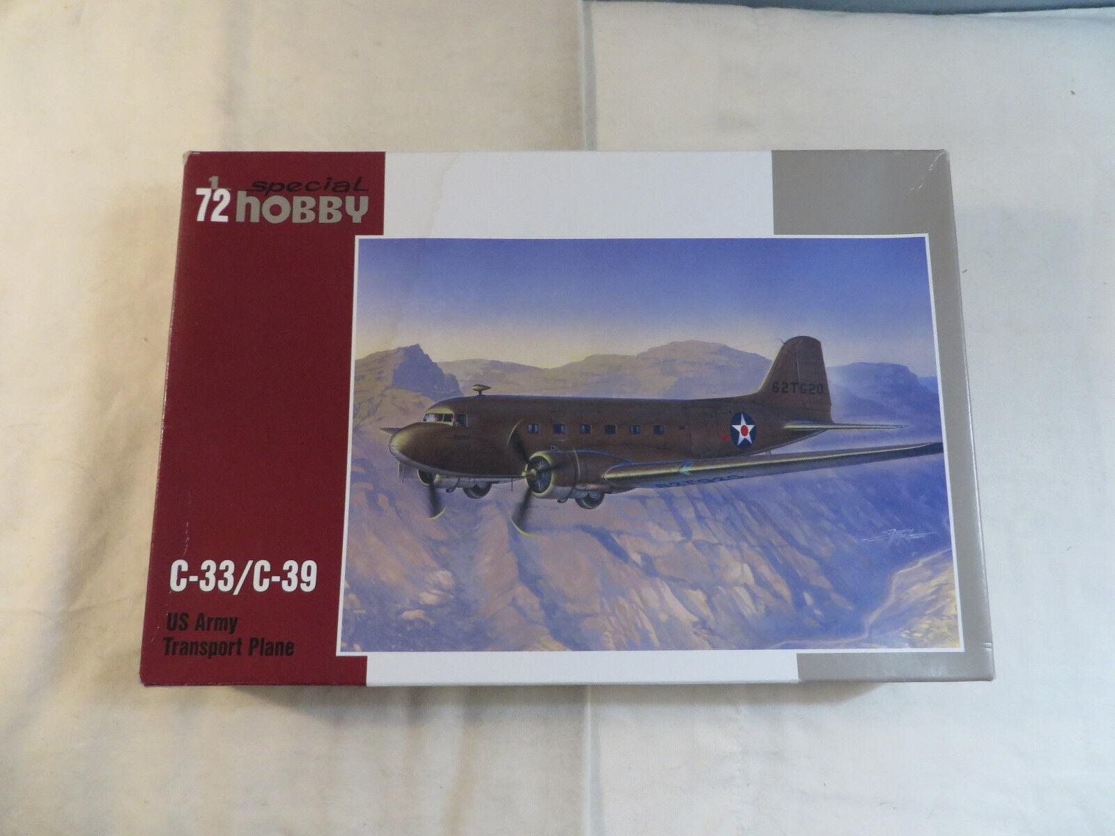72 1 Hobby C-33 Special SH72176 Open Kit Model Plane