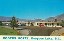 Photo. 1960-1. Osoyoos Lake, BC Canada. Rogers Motel