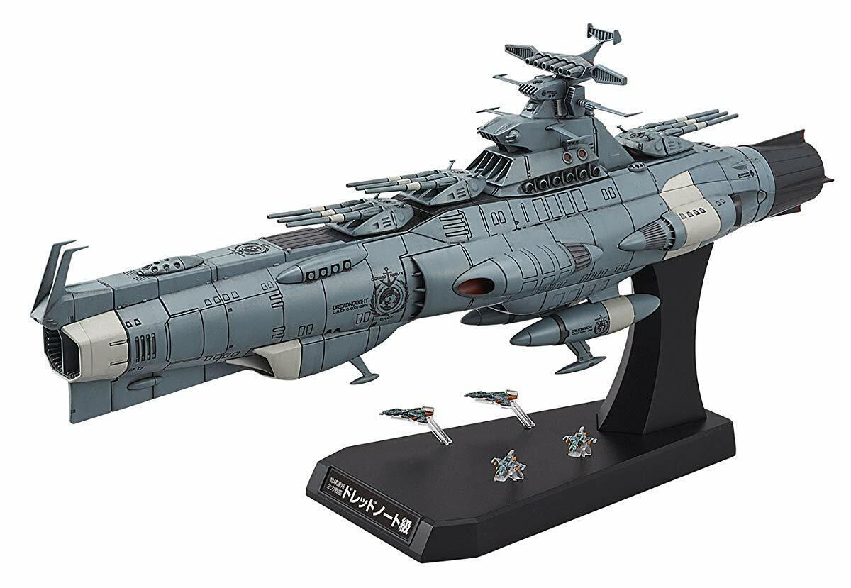 BANDAI SPIRITS 2202 Earth Federation Main Battleship 1 1000 Scale from Japan