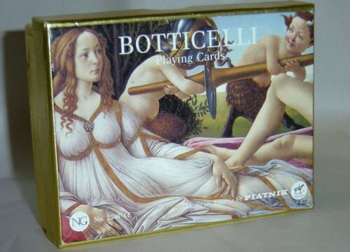 "Brand New PIATNIK RENAISSANCE ""BOTTICELLI"" No. 2346 PLAYING CARDS"
