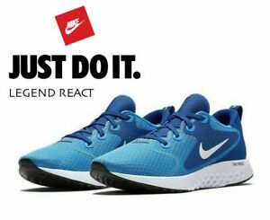 Nike-LEGEND-REACT-Men-039-s-Running-Gym-Sneakers-AA1625-401-Blue-Hero-size-15