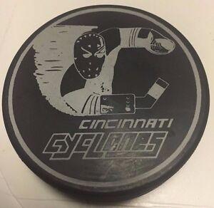 Cincinnati Cyclones Hockey Puck Blank Back IHL