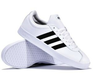 ADIDAS-VL-COURT-2-0-CLASSIC-ESSENTIAL-SHOE-ZAPATOS-FITNESS-ORIGINAL-DA9868-NEGRO