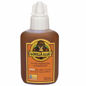 60ml Gorilla Glue For Wood Stone Metal Ceramic Glass Tough