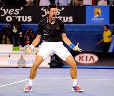 Novak Djokovic senza segno foto-e137-TENNISTA serbo Professional