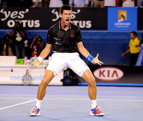 Serbian professional tennis player E137 Novak Djokovic UNSIGNED photo