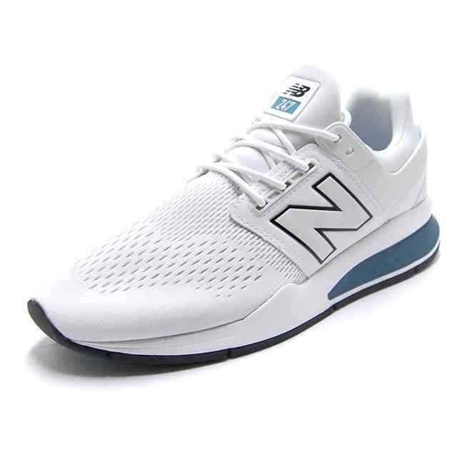 New Balance MS 247 TW Gr 44,5 US 10,5 D white white sneaker Leder Leather kayano