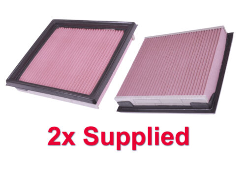2x Air Filter Standard OE Replacement 350Z VQ35HR 07-09 Z33 One Pair Supplied