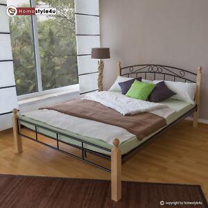 metal-lIt-cadre-de-lit-lit-double-Sommier-140-160-180-noir-white-argent-916