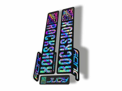 Rock Shox JUDY 2018 Fork Decal Mountain Bike Cycling Sticker Adhesive Oil Slick1
