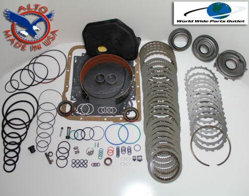 4L60E Rebuild Kit Heavy Duty HEG LS Kit Stage 3 w//3-4 PowerPack 1997-2003