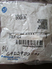 ALLEN BRADLEY 800EM AS4 Red Selector Switch Series A