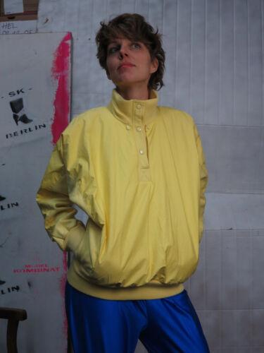 vrai Braun annᄄᆭes Pullover Pulloverover des 80 Le pour Gelb femme 80er pull Sportswear 3RjL5A4