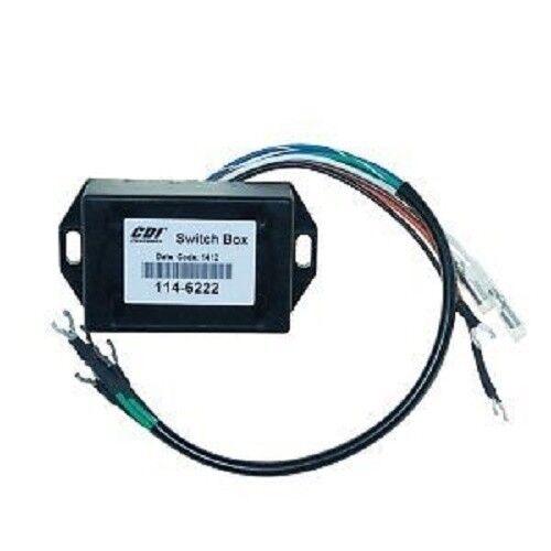 Mercury Outboard Switch Box 2 cyl 339-5287 339-6222A4 339-6222A10 114-6222 C117