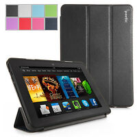 Poetic Amazon Kindle Fire Hdx 7 Inch (2013 & 2014) -slim Line Cover Case Black