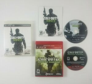 Call-of-Duty-Modern-Warfare-1-amp-3-PlayStation-3-PS3-COD-MW1-MW3-Activision