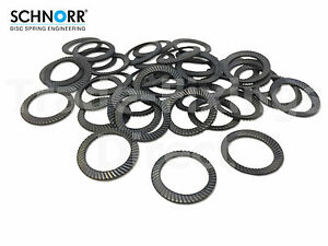 Schnorr serratted Safety Locking Washers Type S Trade-Fixings Direct