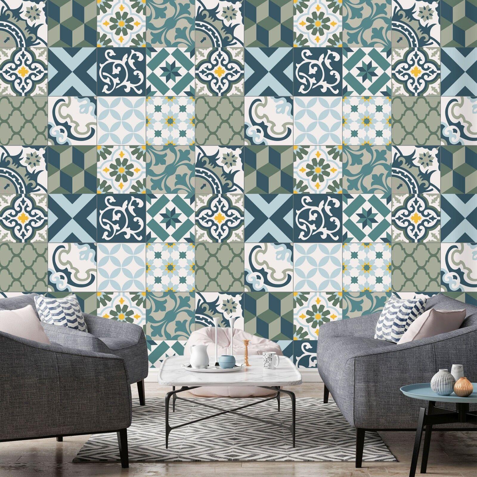 3D Green Pattern 912 Wallpaper Mural Paper Wall Print Indoor Murals CA Summer