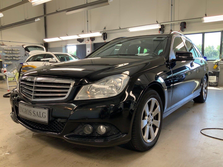 Mercedes-Benz C200 2,2 CDi stc. aut. BE