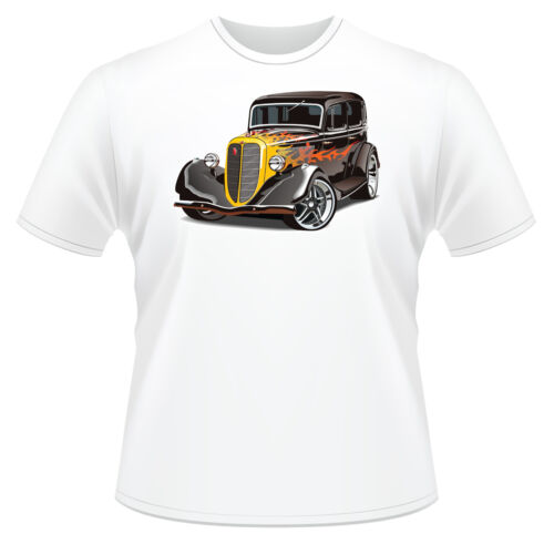 Hot Rod 2 Men/'s T-Shirt Ideal Birthday Gift Or Present