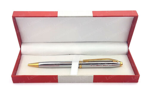 LOVE YOU MUM GOLD SILVER PEN Mothers Special Thank you and Birthday Gift NEW