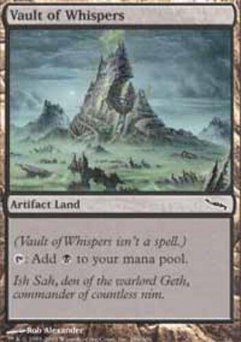 Vault of Whispers PL Mirrodin MTG Magic The Gathering Land English Card