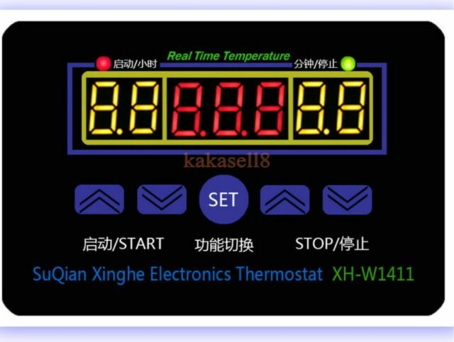 12V 220V Digital LED Temperature Controller 10A Thermostat Control Switch +Probe