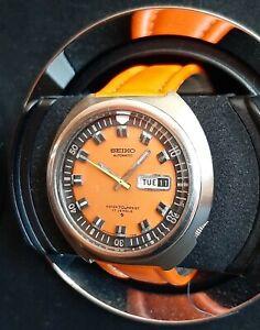 Vintage SEIKO 6106-7107 70m Orange Diver