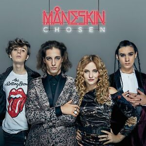 MANESKIN - CHOSEN  CD POP-ROCK ITALIANA