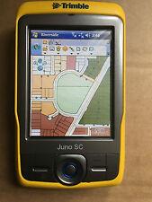 TRIMBLE JUNO SC GPS DATA COLLECTION PDA  WiFi + ARCPAD 8 / Office PSU