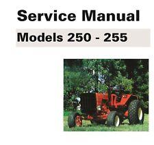 Belarus 250 Amp 255 Tractor Manual Set Technical Parts Amp Operator Maint Manual