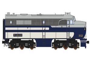 Broadway Limited 3215 Alco Ensemble Wab #1021 Locomotive Avec Paragon2