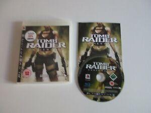 Tomb Raider: Underworld PS3 PlayStation 3 - Complete in box CIB