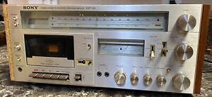 Sony-HST-49-Stereo-Cassette-Receiver-Vintage-Tested-Works-Restoration-Pre-owned