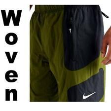 Nike Sportswear Big Swoosh Woven Pants Black/white Size Small Ar9894 010
