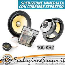 Focal 165KR2 Kit Casse 2 Vie k2 Power Poly Kevlar Hi End NUOVO GARANZIA ITALIA