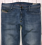 Da-Uomo-Diesel-IAKOP-Jeans-W32-L29-Blu-Regular-Slim-Tapered-Wash-0807S-stretch miniatura 1