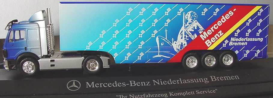 1 87 Mercedes -Benz Sk 88 Lorry Needle Bremän The Key - Herpa - Dealer -Ed.