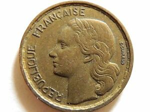 1953-French-Ten-10-Francs-Coin