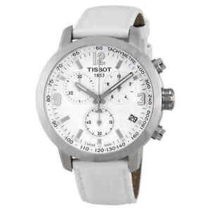 Tissot-PRC-200-Chronograph-White-Dial-Steel-Watch-T055-417-16-017-00