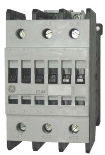 GE CL08A300MS 3 pole 110 AMP contactor with a 240 volt AC coil