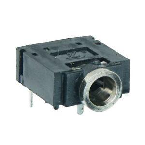 5 x 3.5mm Stereo Jack Socket PCB 0.5A