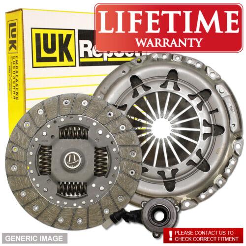 Vauxhall Astra Mk Iv 1.7Dti Luk Clutch Kit 3Pc 75 02//00-05//05 Fwd Estate Y17Dt