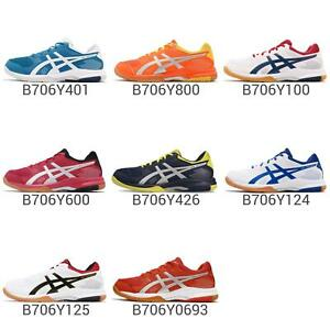 Asics-Gel-Rocket-8-Gum-Mens-Volleyball-Badminton-Indoor-Shoes-Pick-1