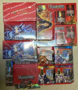 Force of Will Collection Lot 1000 Assorted Cards Variety From Many Clusters TCG