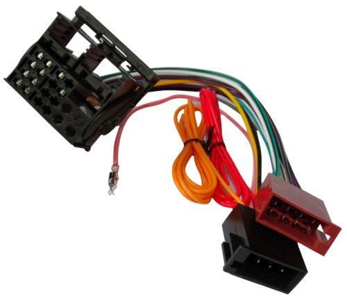 Adaptateur faisceau câble ISO autoradio pour Opel Vivaro Zafira B