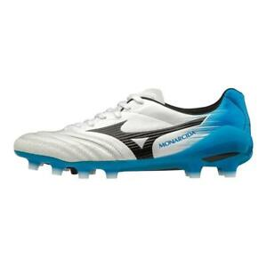 4f7624c1c NEW Mizuno Soccer Spike Shoes Monarcida 2 Neo Japan P1GA1820 White ...