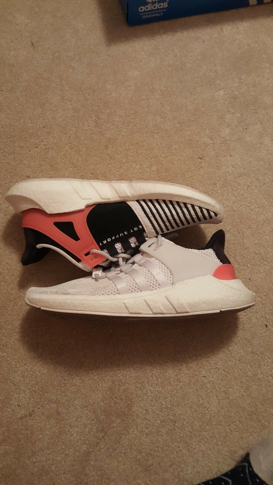 Adidas EQT Support 93/17 Infrared Size 10.5