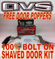 88-98 Gmc Sierra 1500 Bolt In Shaved Door Kit W/ Free Door Poppers